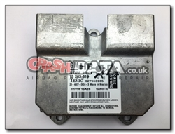 Vauxhall Corsa D 13 283 819 Airbag Module Repair and Reset 327956935