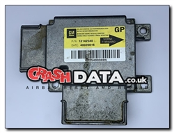Vauxhall Vectra C 13142540 GP Airbag Control Module Reset and Repair