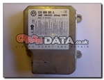 VW 1C0 909 601 A Siemens 5WK43123 Airbag Module Repair and Reset
