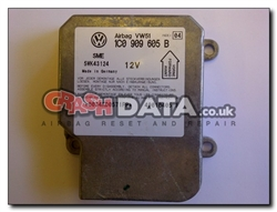 VW Seat Skoda 1C0 909 605 B Airbag Module Repair and Reset 5WK43124