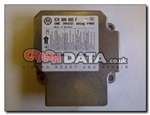 VW Skoda Ford 1C0 909 605 F Airbag Module Repair and Reset 5WK43131