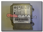 VW Seat Skoda 1K0 909 605 R Airbag Control Module Reset and Repair 5WK43412