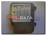 VW Caddy 6Q0 909 605 P Airbag Control Module Reset 5WK43351