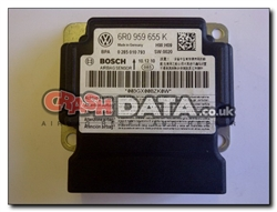 VW Polo, Skoda Superb and Seat Ibiza 6R0 959 655 K Airbag Control Module Repair and Reset 0 285 010 793