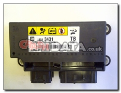 Vauxhall Insignia 1358 3431 TB Airbag Control Module Reset and Repair
