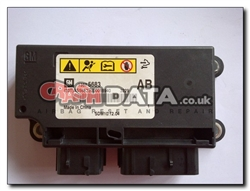 Vauxhall Astra 1357 5683 AB Airbag Control Module Reset and Repair