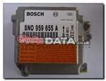 Audi TT 8N0 959 655 Airbag Control Module Reset and Repair 0 285 001 470