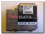 VW Sharan 7N0 959 655C Airbag Control Module Reset and Repair 221098-115