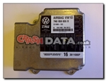 VW Sharan 7N0 959 655B Airbag Control Module Reset and Repair 221098-103