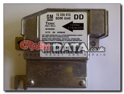 Vauxhall Meriva 13 259 913 DD SDM Unit Reset and Repair