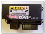 Vauxhall 1358 9405 AV Airbag module repair and reset