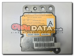 Nissan 370Z 25348 1EA0A (bonnet module) Airbag Module Repair and Reset