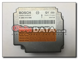 Mercedes 0 285 010 566 Bosch 2038700026 Airbag Module Repair and Reset