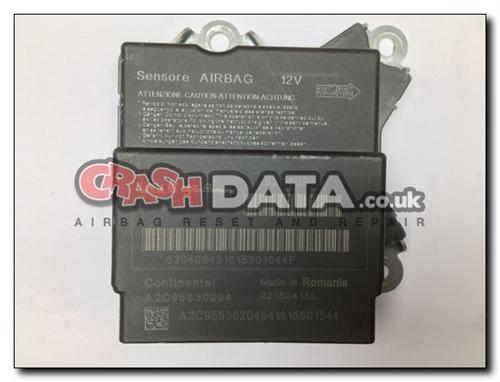 52040843 FIAT 500 Airbag Control Module Reset A2C95530204
