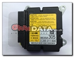 Mitsubishi Outlander 8635A305 Airbag Module Reset and Repair 0 285 011 604