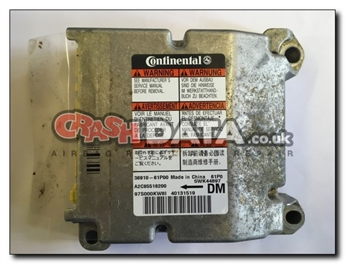 38910-61P00 SUZUKI SWIFT Airbag Control Module Repair and Reset 5WK44897