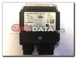 Land Rover Discovery FK72-14D374-AJ Bosch 0 285 013 069 Airbag Module Repair and Reset