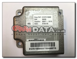Fiat Citroen Peugeot 01375110080 Airbag Module Repair and Reset internal errors srs motorhome crashdata