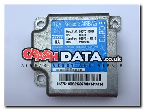 01375110080 FIAT DUCATO PEUGEOT BOXER CITROEN RELAY Airbag Module Reset and  Repair