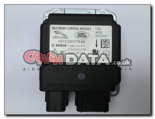 HX73-14D374-AB JAGUAR XE / F-PACE Airbag Module Repair and Reset 0 285 013  214