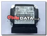 VW Skoda 6C0 959 655 F Airbag Module Repair and Reset 0 285 012 570