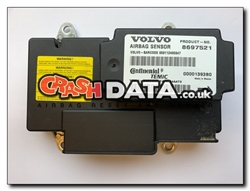 Volvo 8697521 Temic Airbag Module Repair and Reset
