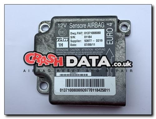 01371008080 FIAT DUCATO CITROEN RELAY AND PEUGEOT BOXER Airbag Module  Repair and Reset