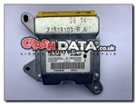 Renault 609471400D Airbag Control Module Reset and Repair 7701071459