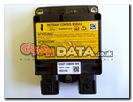 Ford Fiesta 2S6T 14B056 BN Siemens 5WK43030 Airbag module reset and repair by crashdata.co.uk
