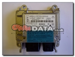 Ford Focus 6N4T 14B321 AA Bosch 0 285 010 165 Airbag Module reset and repair by crashdata.co.uk