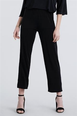 Ankle length capri pant - black -  nylon