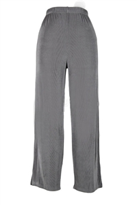 Ankle length capri pant - grey-  acetate/spandex