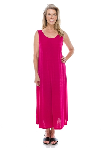 Fuschia Tank Dress