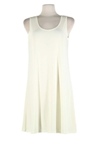 Short tank dress - ivory - polyester/spandex