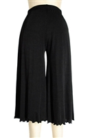 Gaucho Pant - black - polyester/spandex