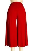 Gaucho Pant - red - polyester/spandex