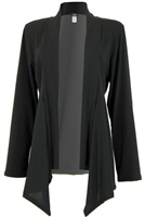 Mid-cut long sleeve jacket - polyester/spandex