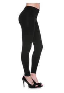 e70ade76c72 Full length leggings - black - nylon spandex ...
