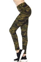 Leggings - camouflage - polyester/spandex