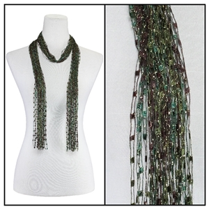 Confetti Scarf - Evergreen - Nylon