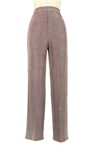 Pants - taupe - acetate/spandex