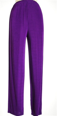 Pants - purple - polyester/spandex