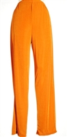 Pants - rust - polyester/spandex