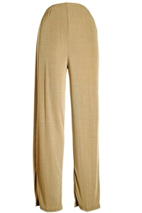 Pants - taupe - polyester/spandex