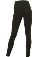 Slim pants - brown - acetate/spandex