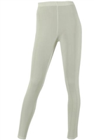 Slim pants - ivory - acetate/spandex