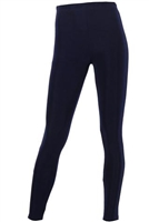 Slim pants - navy - acetate/spandex