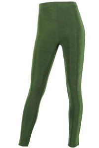 Slim pants - olive - acetate/spandex
