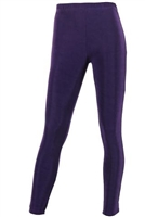 Slim pants - purple - acetate/spandex