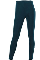 Slim pants - teal - acetate/spandex